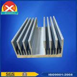 Extruido perfiles de aluminio del disipador de calor para la disipación de calor de alta potencia del inversor