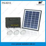 Luzes de LED do painel solar flexível para casa com 11V 4W Painel Solar e carregador de telefone USB