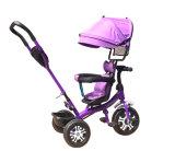 새로운 대중적인 작풍 조정가능한 시트 안전 아기 세발자전거