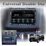 """6.95 """" Carplayのアンドロイド7.1のユニバーサル倍DIN車DVD GPSプレーヤーのWiFiの接続、3Gインターネット、人間の特徴をもつ電話接続、Hualingan"""