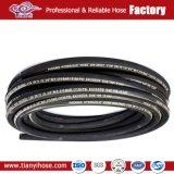Tubo flessibile idraulico del tubo flessibile di gomma flessibile del tubo flessibile R2 della treccia del collegare