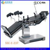 C-Brazo del equipamiento médico del hospital usar la mesa de operaciones ortopédica ajustable eléctrica