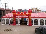 De hoog-ingedeelde Rode en Witte Tent van het Banket van de Partij van het Huwelijk van pvc