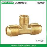OEM y ODM de tres vías de la calidad de montaje de compresión de latón (IC-FF-1003)