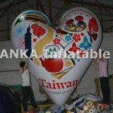 Globo de forma de corazón globo inflable de hélio decoración de la boda