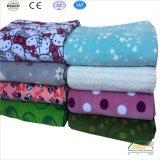 回転Size Bed Blankets 2018印刷のフランネルの羊毛王新しいデザイン