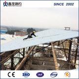 Vorfabriziertes feuerfestes Stahlkonstruktion-Gebäude für Werkstatt