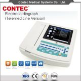 Le diagnostic médical Équipement 12-Channel Machine ECG 3G/Electrocardiograph-Contec WiFi