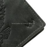 Бумажник горячего человека надувательства реальный кожаный (EU4187)