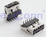 USB2.0 Conector macho / fêmea Ângulo direito
