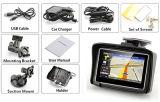 Impermeable Mini duradero Popular de larga duración de la batería de la motocicleta / coche de navegación GPS