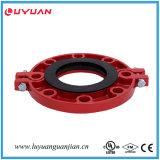 L'UL a indiqué, le coude malléable 42.4 de radius de circuit du fer 90 d'homologation de FM