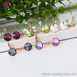 28666 nuovo Fashion Elegant Crystal Jewelry Earring Hoop in Copper Alloy