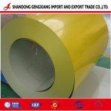 Низкая цена DX51d 40-1250мм Ширина Prepainted оцинкованной стали