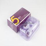 Médico de cuidados da pele quente Agulha Micro Derma Roller 5 em 1 Derma Roller
