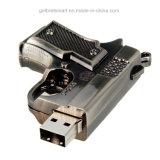 Mini arma del metal del palillo de memoria USB para regalo de los niños