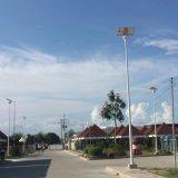 屋外の高い発電LEDの通りの道ライト太陽照明器具ライト