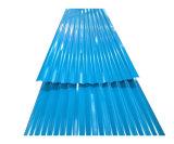 Strato ondulato di costruzione del tetto del metallo di uso PPGI