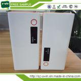 La Banca esterna di riserva portatile di potere della batteria 10000mAh con l'indicatore luminoso del LED