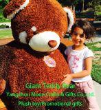 5 pieds de peluche de panda rouge d'ours de nounours géant fait sur commande