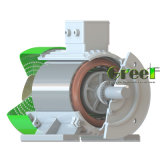 수력 전기 사용을%s 고품질 50kw 영구 자석 발전기