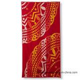 Algodón estampado de terciopelo toalla de baño toalla de playa con diseños coloridos