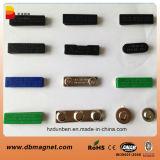 Aimants magnétiques d'insigne nommé d'étiquette de néodyme de la qualité N35