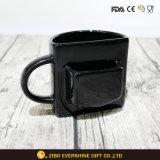 Keramisches Biskuit-Plätzchen-Taschen-Kaffeetasse-Cup für Förderung