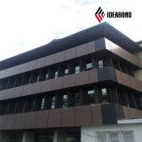 Material moderno del acabamiento de la pared exterior del aluminio del diseño del edificio de Ideabond (AF-411)