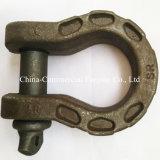 U字形の形はステンレス鋼の炭素鋼の手錠を造った