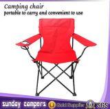 Chaises de camping pliant robustes avec sac de transport, chaise de porte arrière pliable