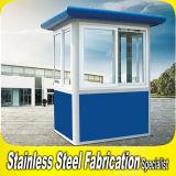 Quiosco de acero revestido de la seguridad del polvo durable