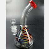 De Waterpijp van het Glas van de kleur van de Pijp van de Rook van het Glas van 7.87 Duim
