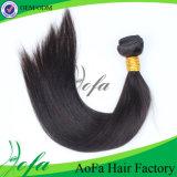 extensão brasileira do cabelo humano do Virgin do cabelo de Stright da classe 7A
