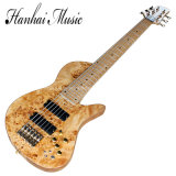 Нот Hanhai/24 гитары Ше-Через-Тела шнуров Frets 6 электрических басовых