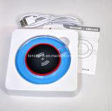 Cargador sin hilos portable móvil del teléfono del cargador LED del recorrido del modelo nuevo de Fashional de la fábrica de Dongguan