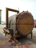 Stufa di carbonizzazione delle coperture della noce di cocco di protezione dell'ambiente di costo della manodopera