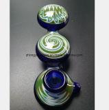 De blauwe Waterpijp van het Glas van Filter aan Filter Pijpen