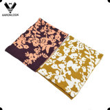 soft Acrylic Fashion Jacquard 숙녀의 꽃 패턴 Snood 스카프