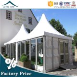 5X5m verschiebbares Business Commercial Glass Wall Pagoda Tent mit Clear Span Structure