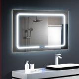 Châssis en aluminium à montage mural Salle de bains miroir rétroéclairé par LED