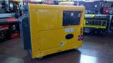 Generatore diesel silenzioso 5.5kw elettrico/inizio di ritrazione