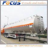 40, 000L de Semi Aanhangwagen van de Tanker van de Brandstof van de Legering van het Aluminium van de tri-As