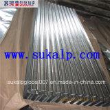 Hoja de acero galvanizada para la azotea
