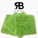 césped artificial sintetizado de la hierba de la decoración Anti-ULTRAVIOLETA del paisaje de 20-35m m para el jardín