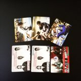 Impresos personalizados 54 diseños diferentes juegos de cartas de papel