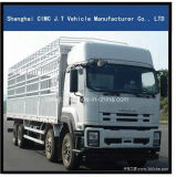 Isuzu camión de carga 8X4 con 30 toneladas de carga