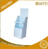 L'étalage d'étage fait sur commande innovateur de carton de bruit de quatre côtés avec des crochets libèrent l'élément debout pour des clips
