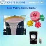 Stagno Cure Silicon Rubber per Molding con High Duplication Tempo