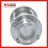 25.4mm en acier inoxydable Sanitary Hygienic Triclamp Sight Glass with Protection Sleeve